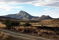 Compassberg from Ganora Guest Farm