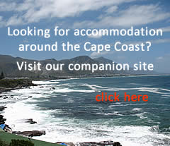 Cape coastal accommodation with West2Wild Coast